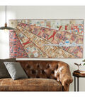 Tim Holtz Airplane Fabric Wall Hanging