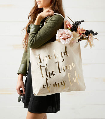 How To Make A Movie Quote Tote Bag