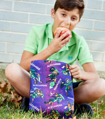 How to Make a Personalized Child's Lunch Bag