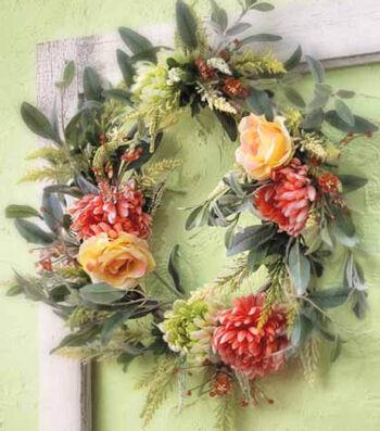 Spring Clip Wreath