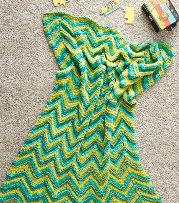 How To Make A Ripple and Ridge Knit Blanket