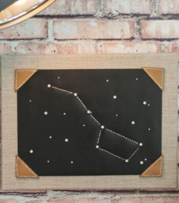 How To Make A Leather Constellation Art