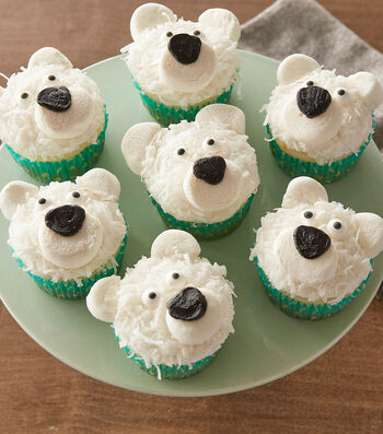 How To Make Polar Bear Cupcakes