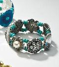 Crystal Turquoise Vintage Bracelet