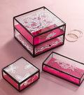 Antique Lace Jewelry Box
