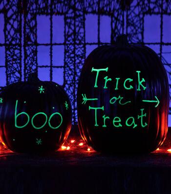 How To Make Glowing Halloween Pumpkins