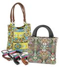 Slotted Handle Handbag