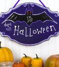 Halloween Bat Plaque