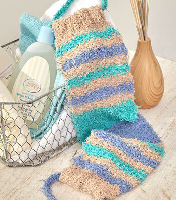 How To Make A Color Block Back Scrubber