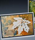 Marble Leaf Card