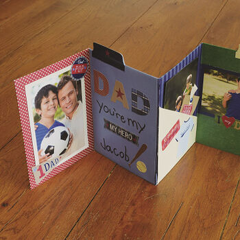 Father's Day Accordion Card