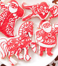 Quilted Christmas Sugar Cookie