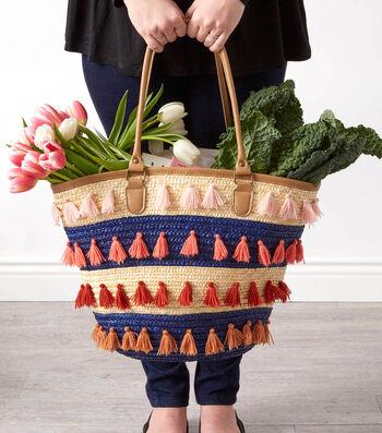 Learn To Tassel Embellished A Tote Bag
