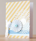 Doily and Rosette Card