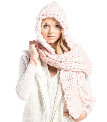 How To  Crochet A Hooded Scarf