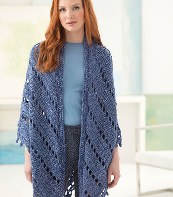 How To Make An Everyday Eyelets Shawl