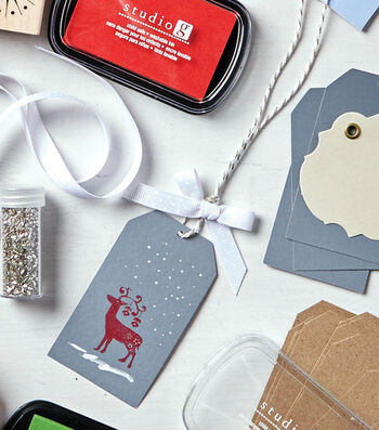 How To Make Reindeer Gift Tags