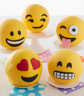 How To Make Emoji Cakes