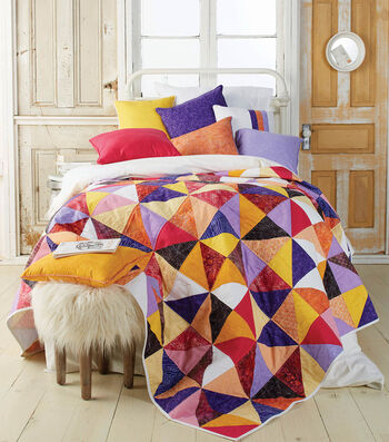 How To Make A Half Square Triangle Quilt
