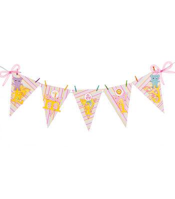 Celebration Baby Girl Banner