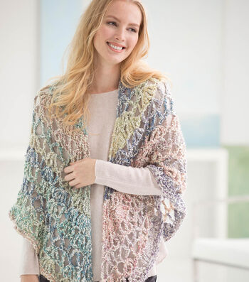 How To Make A Pastel Triangle Shawl