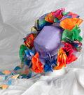 Flowery Watercolor Spring Bonnet