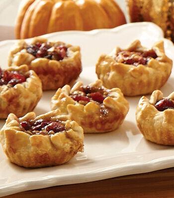 Cranberry Pecan Tartlets