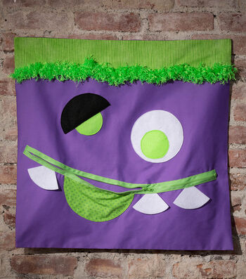 How To Make A Monster Treat Banner