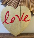 DIY Rustic Wood Valentine's Day Heart