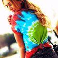 Right on Target Bullseye Tie-Dye T-shirt