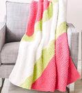 Super-Slash Knit Blanket