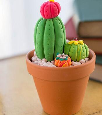 How To Make A Model Magic Cactus Décor