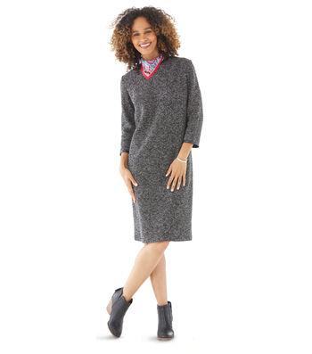 Stretch Knit Sweater Dress