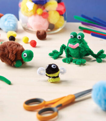 How To Make Pompom Critters