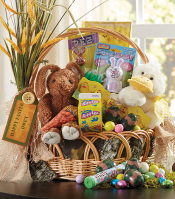 Camouflage Easter Baskets