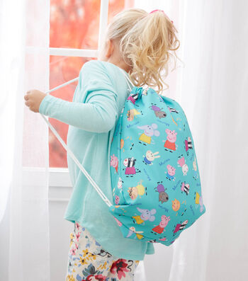 How to Make a Personalized Child's Drawstring Backpack