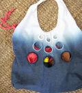 Dip Dyed Peek-a-boo Bag