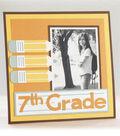 Cricut Mini - School 7th grade layout