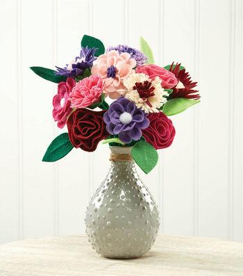 Make A Chenille Stems Flower Bouquet