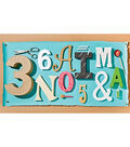 Painted Letters for IMAGINATION