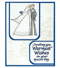 Happy Couple Warm Wishes Card