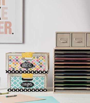 How To  Make  Wood Organizer Bins