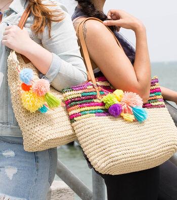 Make Pom Pom & Tassel Bag Charms