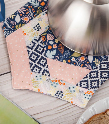 How To Make A Fabric Quilted Potholder