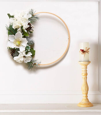 How To Make A Floral Embroidery Hoop