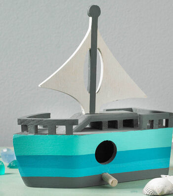 How To Make A Painted Sailboat
