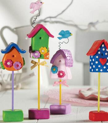 Fimo Birdhouses