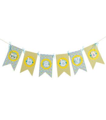 Celebration Baby Boy Banner