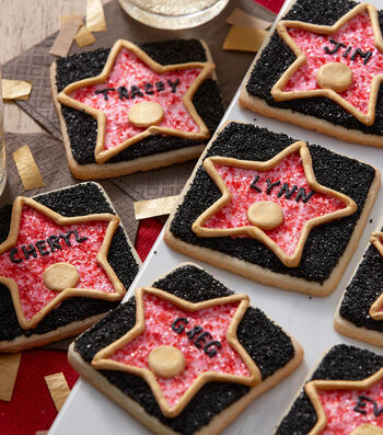How To Make Hollywood Walk of Fame Star Cookies