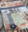 Quilted Collage Table Runner